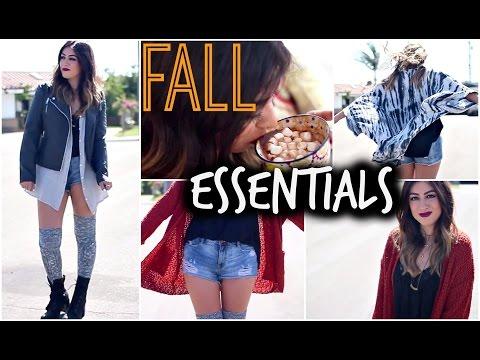 Fall Essentials: Fashion, Drinks, Shopping Secrets & More