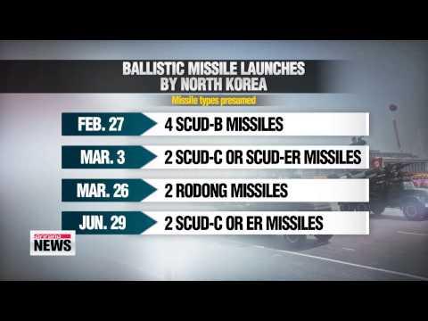 North Korea fires 2 short-range missiles