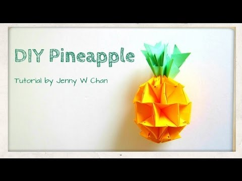 Summer Crafts Diy How To Make A Pineapple Red Envelope