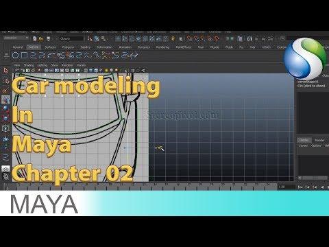 Volkswagen Beetles model in Maya Chapter 01