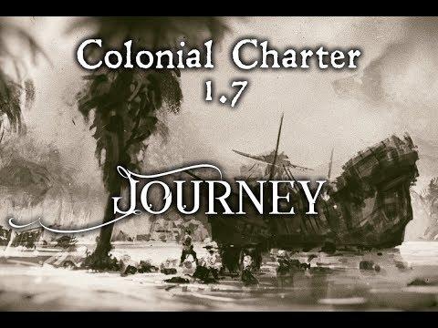 "Обзор игры Banished - Мод  ""Colonial Charter"". (2014 - 2017)"