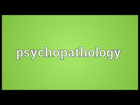 Header of psychopathology