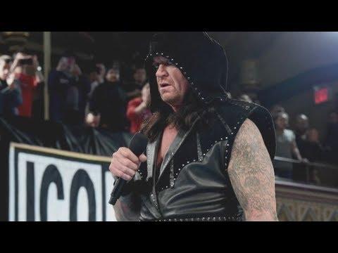The Undertaker's Bizarre WWE Return At Raw 25