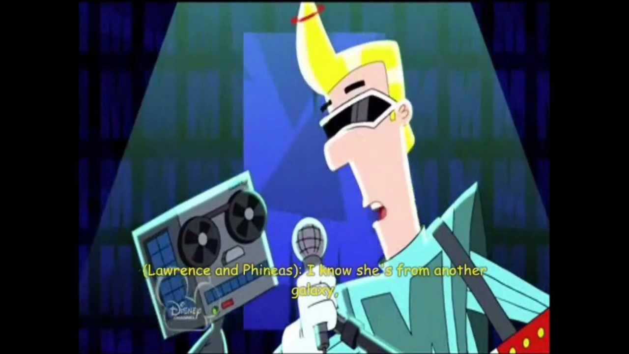 phineas and ferb meet max modem alien