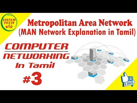 Metropolitan Area Network in Tamil    Types of Network   Computer Networking Course   EntertechTamil