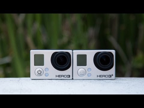 GoPro Hero 3+ vs. Hero 3 (Black editions)