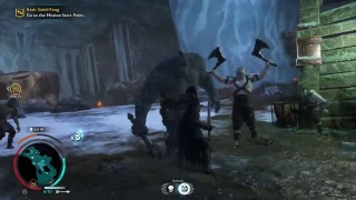 Shadow of War-pit fights and leveling