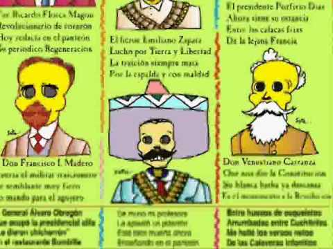 calaveras infantiles Bicentenario independencia versos y caricaturas
