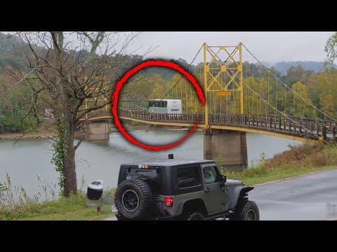 Arkansas Bridge Bends Under the Weight of Bus Crossing Over It