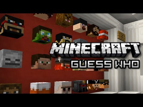Minecraft: GUESS WHO! - Mini Game Music Videos