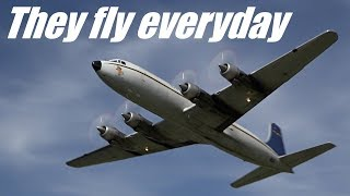 Douglas DC-6 over ALASKA