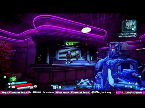 Borderlands Presequel Daft Punk Easter Egg In Moxxi's Up And Over Bar! Borderlands The Pre-Sequel!
