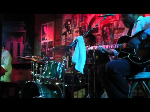 Little John Rogers soloing with Ike Stubblefield and Friends Bamboo Room 2/11/12, pt3