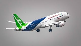A look at the C919, China's first homegrown passenger jet