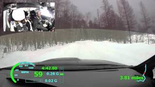 Sno*Drift Rally 2016 SS7 - Miller/Harrell