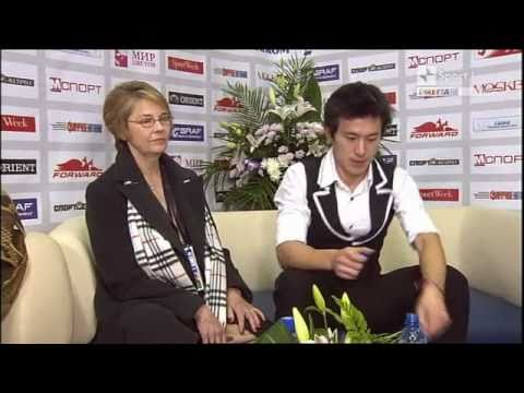 Patrick Chan 2010 Cup of Russia short program