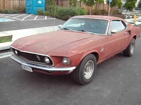 1969 351 Mustang Fastback For Sale Export Only - YouTube