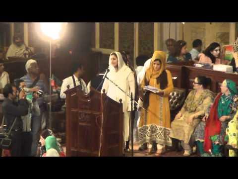 PTI Punjab Women convention with Imran Khan Apr 14 2012 Awana...