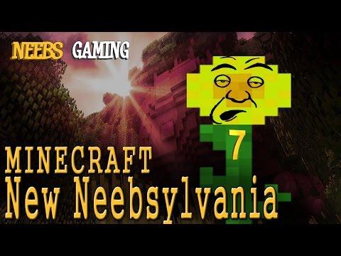 """MINECRAFT - New Neebsylvania 7: """"Sunflowers Are Stupid"""""""