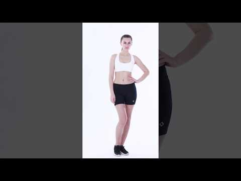 "NAVISKIN Women's 4"" Active Volleyball Shorts Training Workout Tights Compression Shorts"