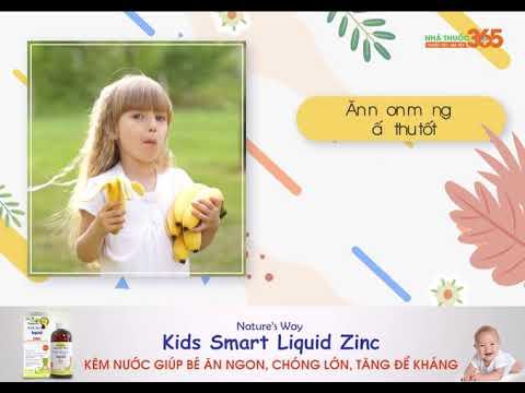 """Kids Smart Liquid Zinc - Kẽm nước dành riêng cho bé đến từ thương hiệu """"trẻ em"""" toàn cầu Nature's Way"""