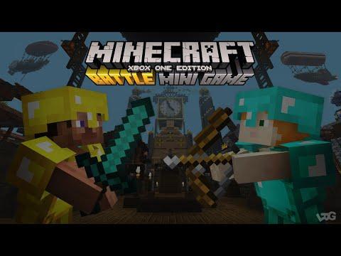 Modo Batalha - Minecraft Xbox One (Especial 35 Min 2021)