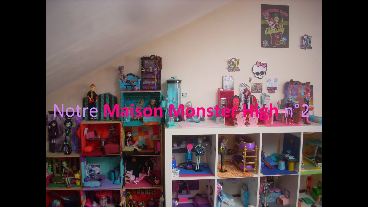 Dollhouse notre maison monster high n 2 hd youtube for Stickers monster high pour chambre