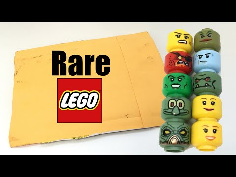 Extremely rare MISPRINTED LEGO pieces from eBay!