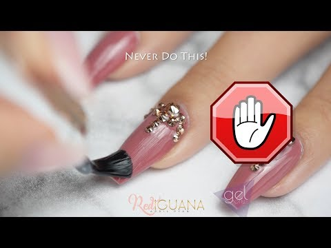 3 Ways to Attach Stones with The Gel Bottle Top Coats | Red Iguana | April Ryan