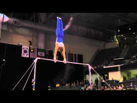 Sam Mikulak - High Bar Finals - 2012 Kellogg&#039;s Pacific Rim Championships - 2nd