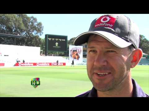 Ricky Ponting - Day 4 - Morning Interview