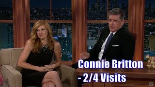 "Connie Britton - ""I Like Men With Big...Hair"" - 2/4 Visits In Chronological Order [360-1080]"