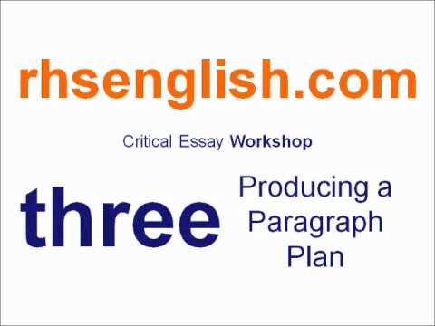 BBC - Higher Bitesize English - Critical essay paper: Revision