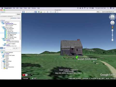 Google Earth Tutorials--Record a Tour