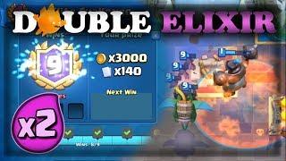 Double Elixir Madness - Mega Knight Deck | Clash Royale