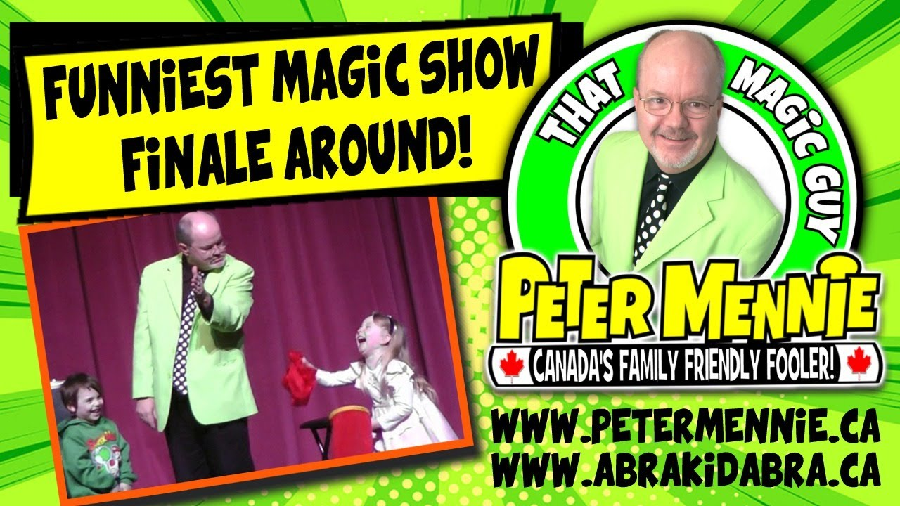 Funny Magic Trick Videos For Kids