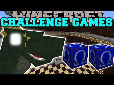 Minecraft: Basilisk Challenge Games - Lucky Block Mod - Modded Mini-game video