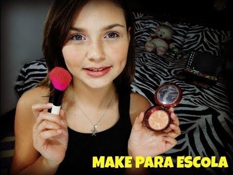 Maquiagem para Escola