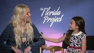 Young 'Florida Project' star will miss her 'pretend' mom