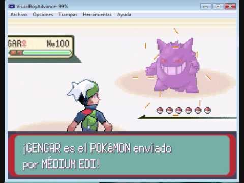 Como robar Pokemons a entrenadores en el Pokemon Esmeralda