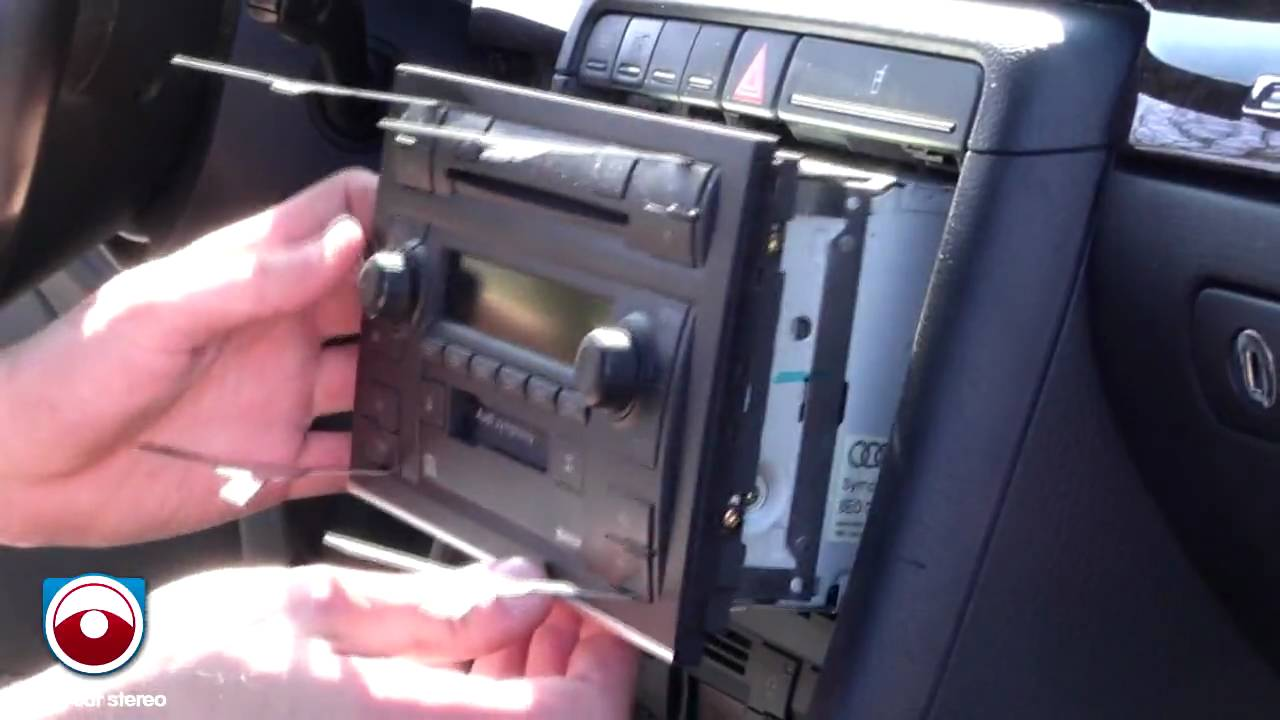 Radio Removal Audi A4 S4 2002 2006 With Symphony Ii Radio