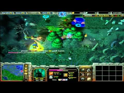 Na`Vi vs  M5 DOTA Final Game 3