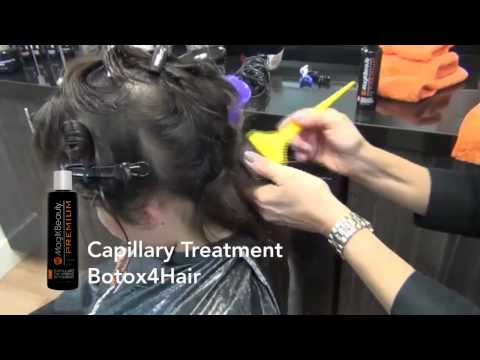 Botox for Hair Treatment Application (Tutorial)