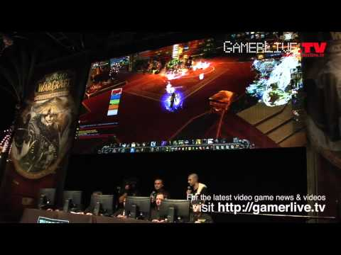 World of Warcraft Fans Talks Mists of Pandaria at Blizzard Irvine Launch