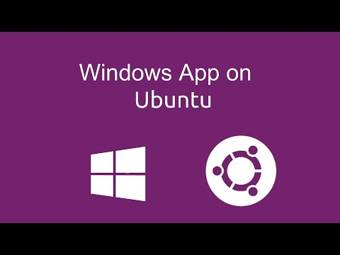 How to install windows application on Ubuntu 16.04 ?