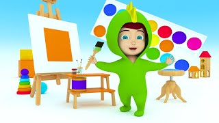 Learn Colors for Children with Baby Dino video for Kids - Learning Colors for Kids Toddlers Baby ...