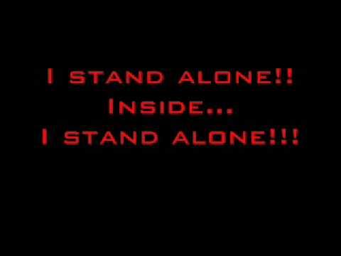 Godsmack- I Stand Alone Lyrics video