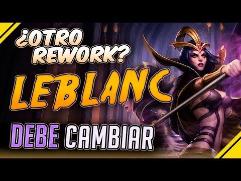 OTRO Rework a LEBLANC ¿La nueva Ryze? | Noticias League Of Legends LoL