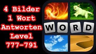4 Bilder 1 Wort - Level 777-791 - Löse 4 Rätsel, die mit Musik zu tun haben - Lösungen Antworten