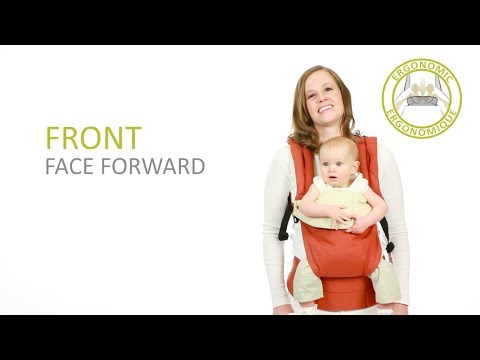 ergo baby carrier instructions front facing